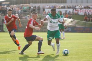 Zaydou Youssouf, ici sous les couleurs de l'AS Saint-Etienne.