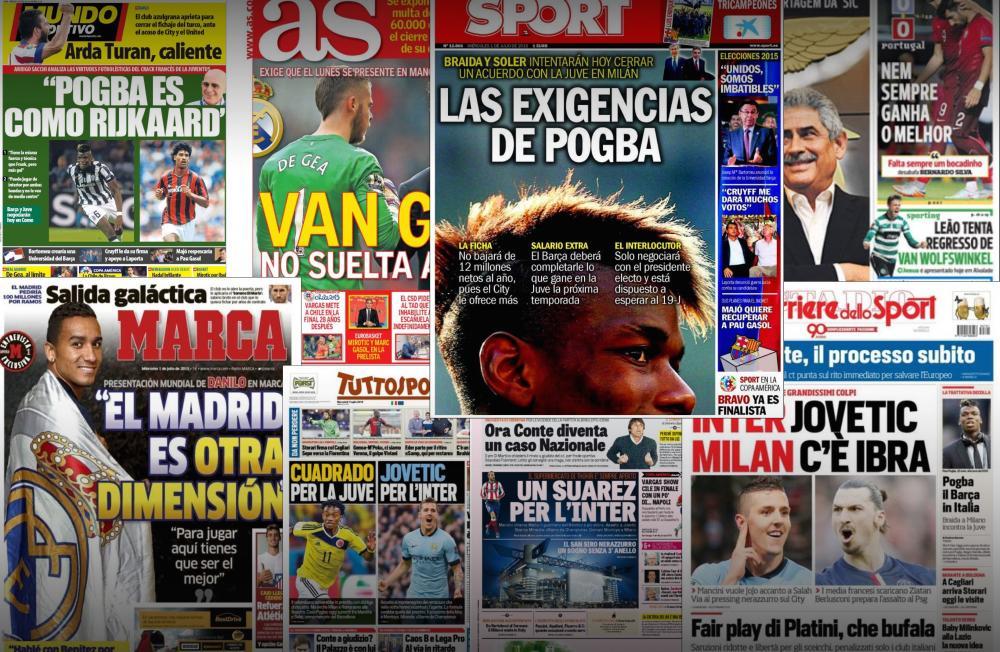 Retrouvez le tour d'Europe de la presse.