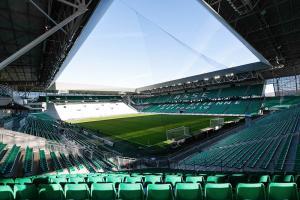 Le Stade Geoffroy-Guichard de l'AS Saint-Etienne.