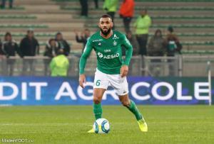 Yann M'Vila, l'ancienne sentinelle de l'AS Saint-Etienne.