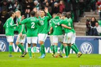 Joie Saint Etienne - Franck TABANOU - 04.01.2015 - Saint Etienne / Nancy - Coupe de France
