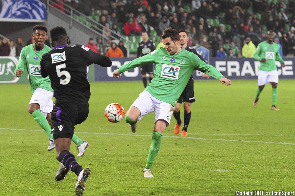 Benjamin Corgnet en Coupe de France la saison passée.