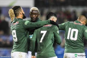 Diousse, Diony et Cabella (ASSE)
