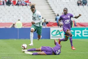 Charles Abi (ASSE) avait fait très forte impression au Stade de France.