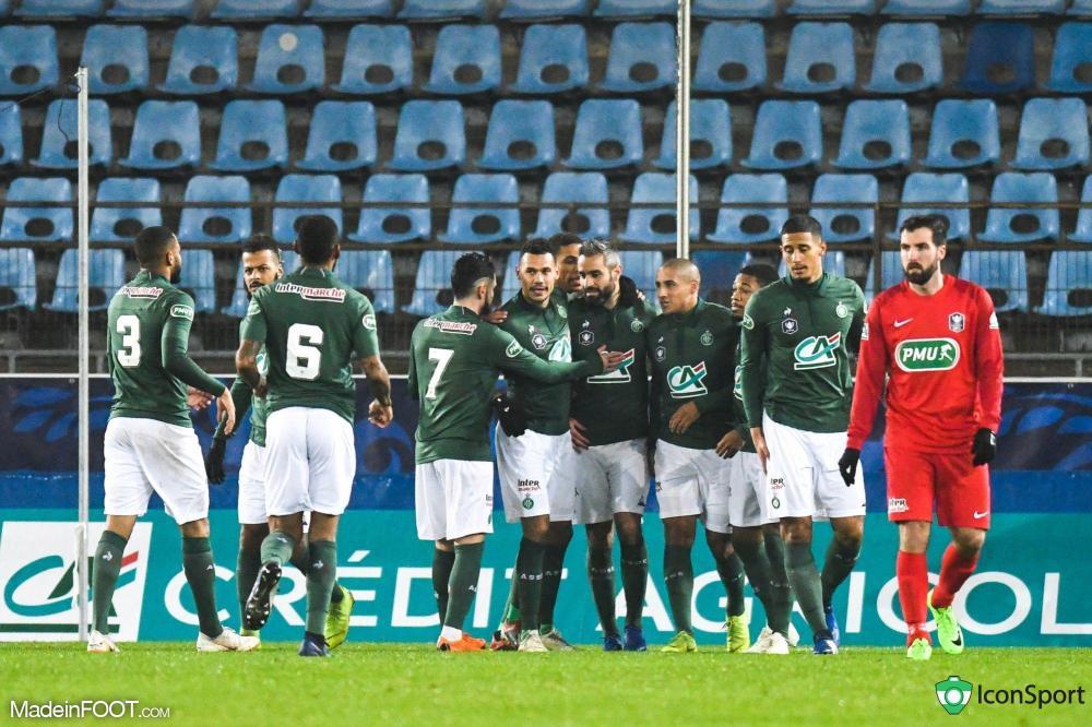 Les Verts cartonnent l'Olympique Strasbourg