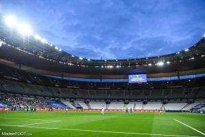 Stade de France, confinement