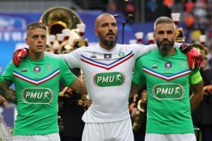 Loïc Perrin, l'ancien défenseur central et capitaine de l'AS Saint-Etienne.