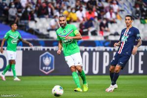 L'album photo de la finale de la CDF entre le Paris Saint-Germain et l'AS Saint-Etienne.