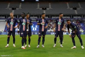 Bakker, Gueye, Di Maria, Paredes, Icardi, Neymar (PSG)