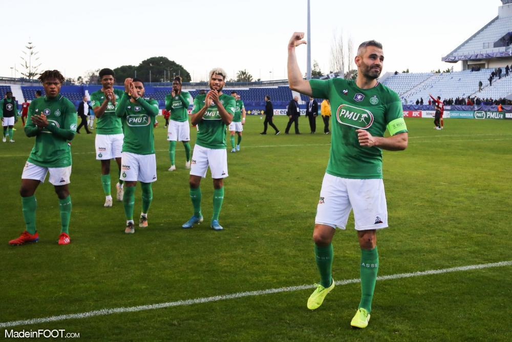 L'AS Saint-Etienne s'est imposée face à Bastia-Borgo (0-3).