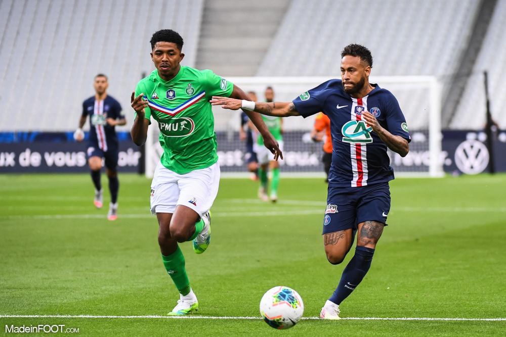 Wesley Fofana quitte l'AS Saint-Etienne, direction Leicester City.