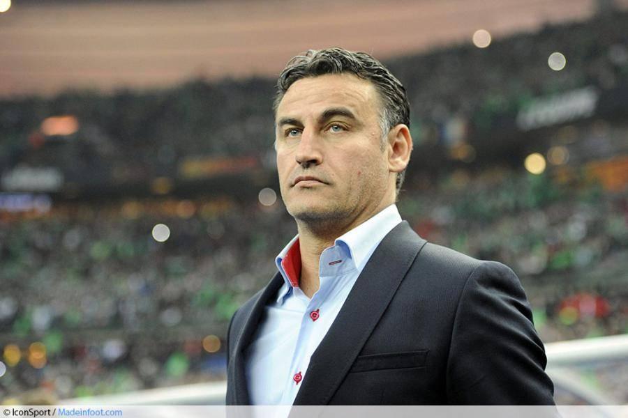 Galtier, entraîneur de l'ASSE