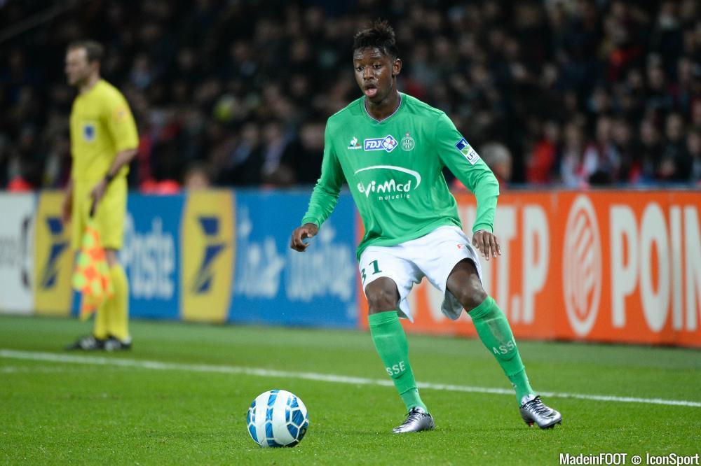 Dylan Saint-Louis (ASSE) est prêté à l'ETG (Ligue 2).