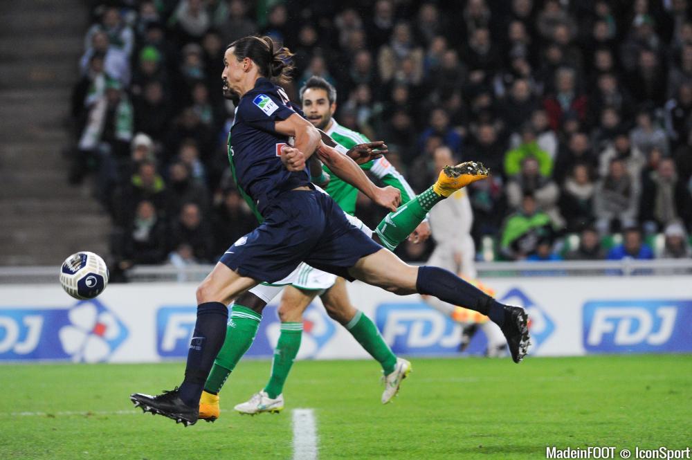 Zlatan Ibrahimovic et le PSG reçoivent Saint-Etienne, ce soir, en demi-finale de la Coupe de France.