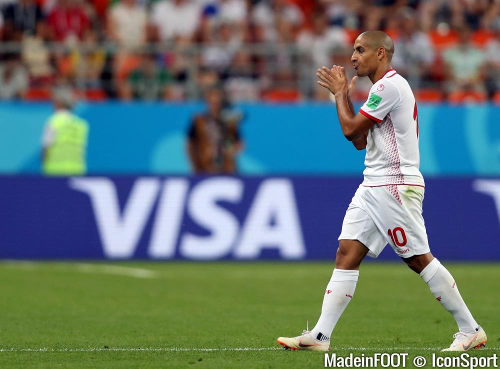 Wahbi Khazri, l'attaquant de l'AS Saint-Etienne et de la Tunisie.