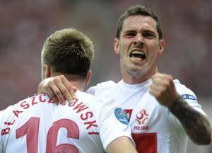 Ludovic Obraniak, ici sous les couleurs de la sélection de la Pologne.