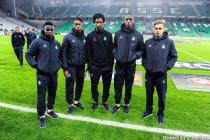 Jonathan BAMBA / Dylan SAINT LOUIS / Erin PINHEIRO / BEN KARAMOKO / Cazim SULJIC - 10.12.2015 - Saint Etienne / Lazio Rome - Europa League