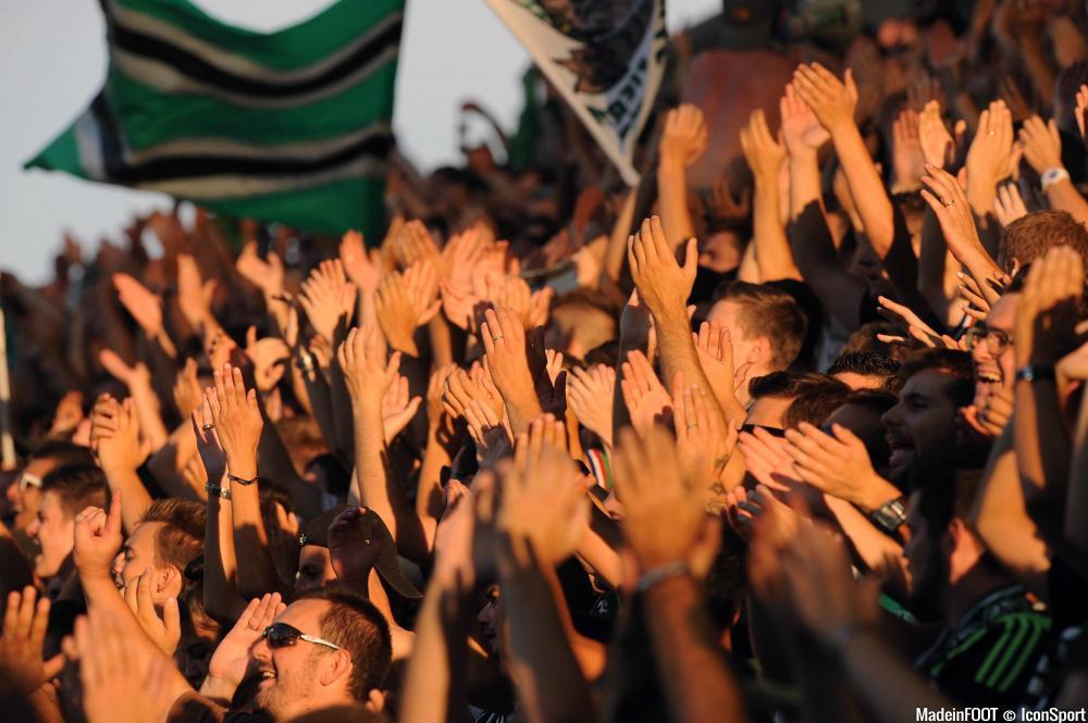 2000 supporters Stéphanois sont attendus à Rome.