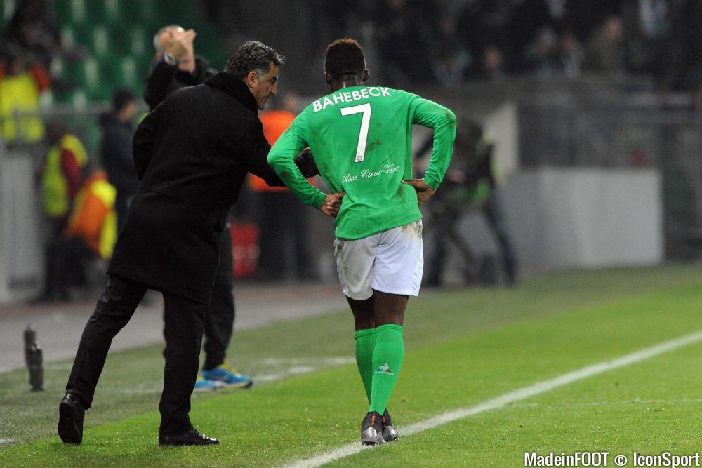Jean-Christophe Bahebeck pourrait ne pas terminer son prêt sous le maillot stéphanois