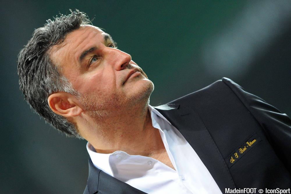 Christophe Galtier (ASSE) va rester une saison supplémentaire dans le Forez.