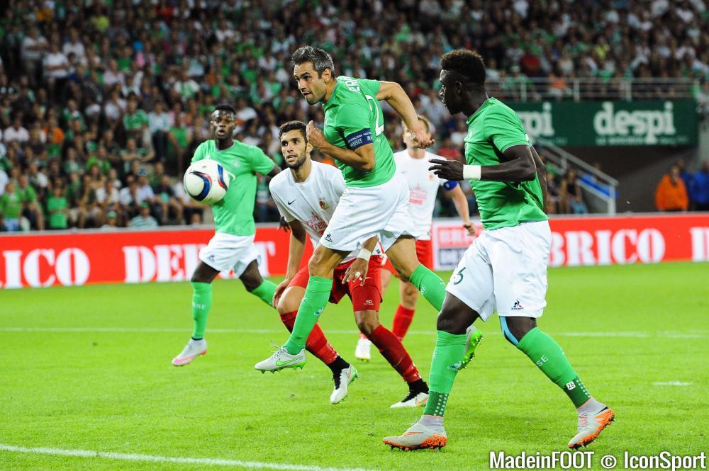 Loïc Perrin (ASSE) est apte pour affronter le GFC Ajaccio, samedi soir.