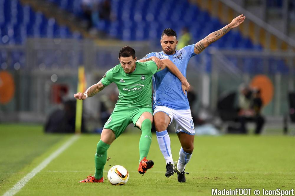 Le résumé vidéo de la rencontre entre la Lazio de Rome et l'ASSE.