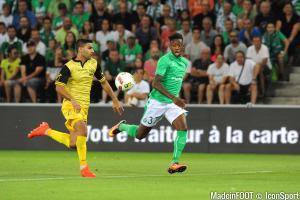 Dylan Saint-Louis (ASSE) a été prêté au Stade Lavallois (Ligue 2).