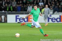 Franck TABANOU - 18.02.2016 - Saint Etienne / Bale - 1/8Finale aller Europa League