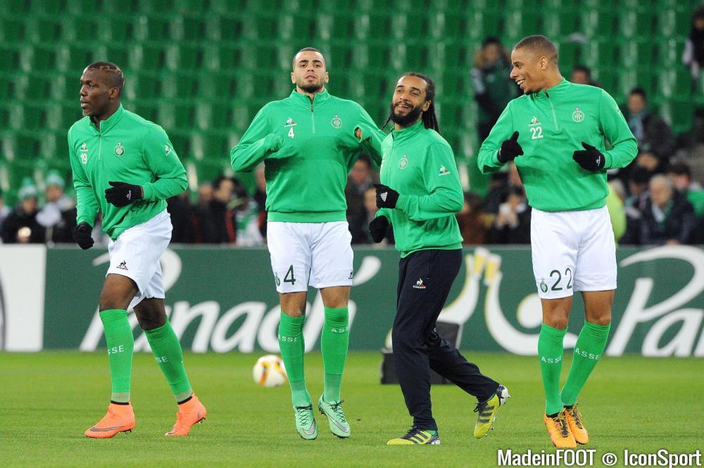 Oussama Tannane et Floreting Pogba (ASSE) ont été laissés au repos.