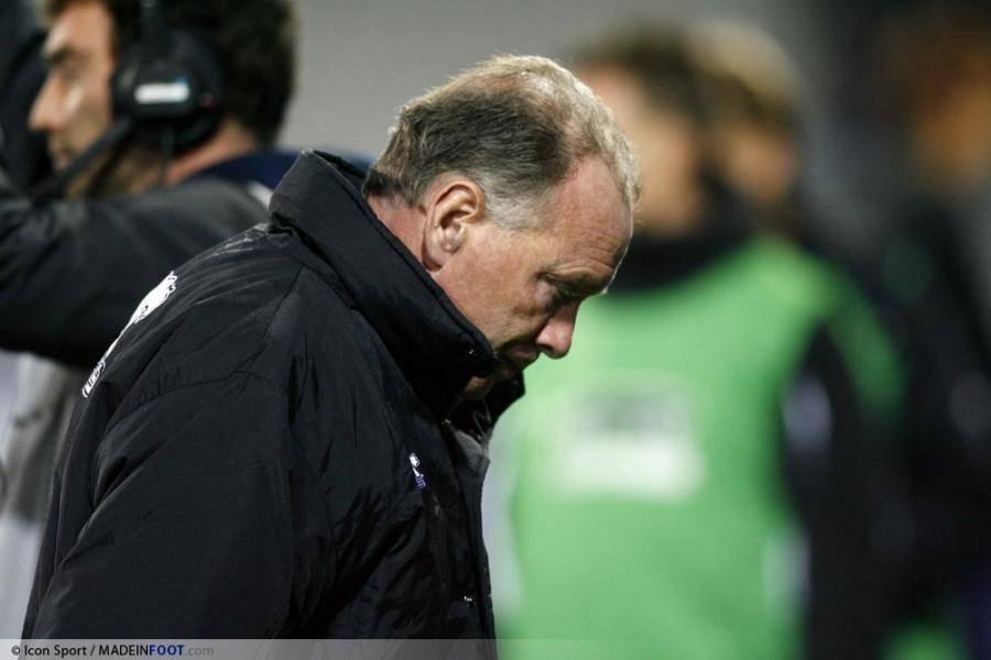 Jean Fernandez, l'entraîneur de l'AJ Auxerre