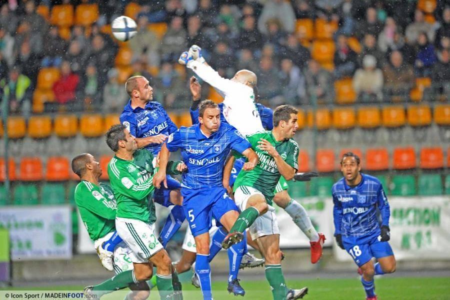 Face à l'AJA, les Verts ont concédé leur 6e match sans victoire