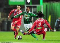 Florent SINAMA PONGOLLE - 26.11.2011 - Saint Etienne / Ajaccio - 15eme Journee de Ligue 1