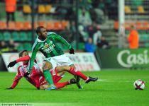 Paul Bastien LASNE / Florent SINAMA PONGOLLE - 26.11.2011 - Saint Etienne / Ajaccio - 15eme Journee de Ligue 1