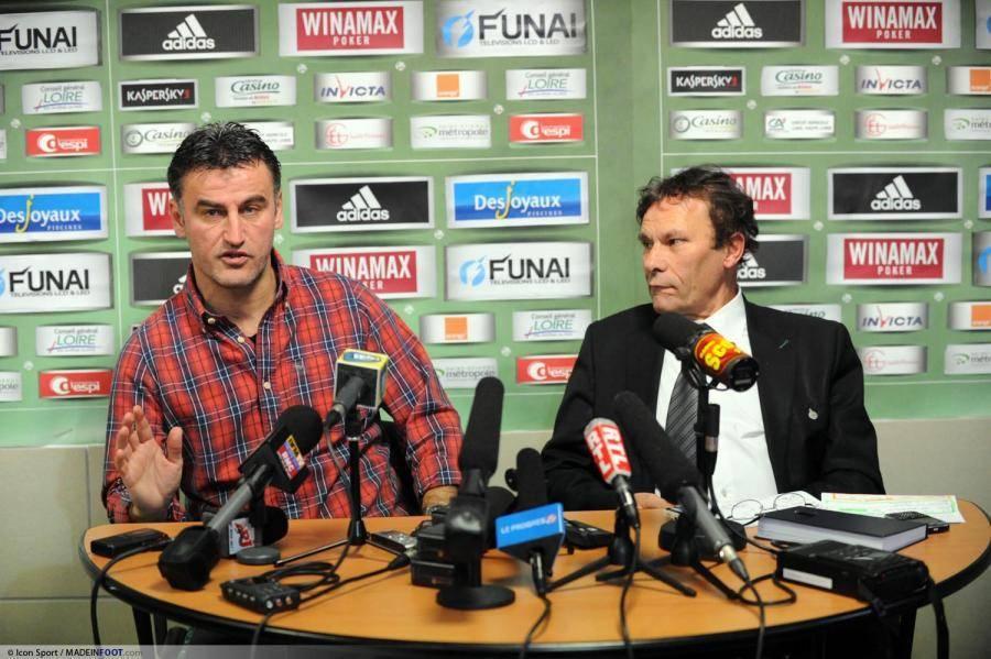 Christophe Galtier a évoqué la situation de Loïc Perrin en conférence de presse.