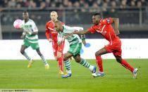 Florent SINaMA PONGOLLE  - 10.03.2012 - Valenciennes / Saint Etienne - 27eme journee de Ligue 1 -