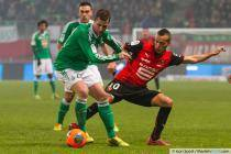 Francois CLERC / Foued KADIR - 04.12.2013 - Rennes / Saint Etienne - 16eme journee de Ligue 1 -
