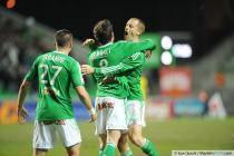 Joie Benjamin CORGNET / Jonathan BRISON - 21.12.2013 - Saint Etienne / Nantes - 19eme journee de Ligue 1 -