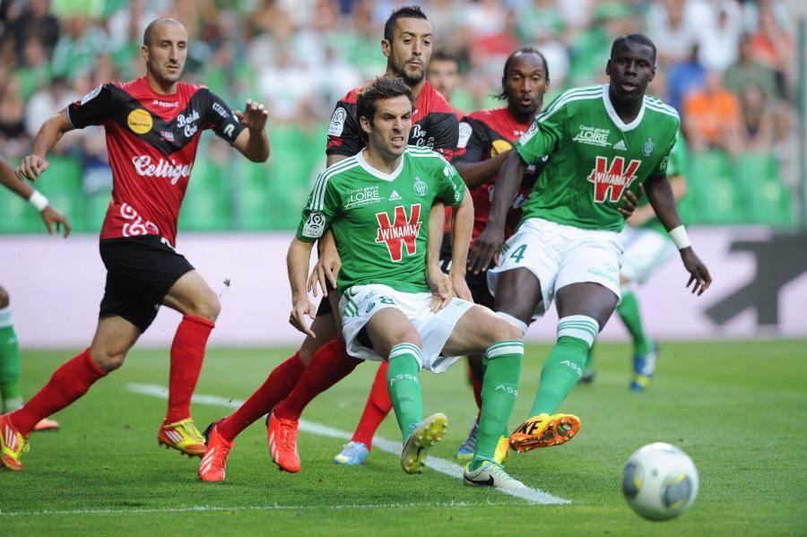 Les Verts ont dominé les Girondins de Bordeaux