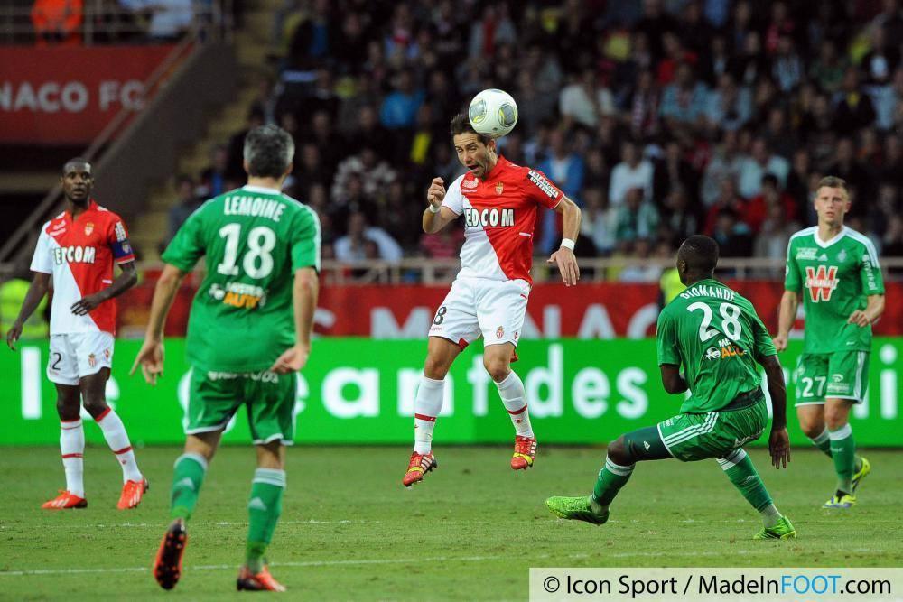 Les compos probables du match entre Monaco et Saint-Etienne.