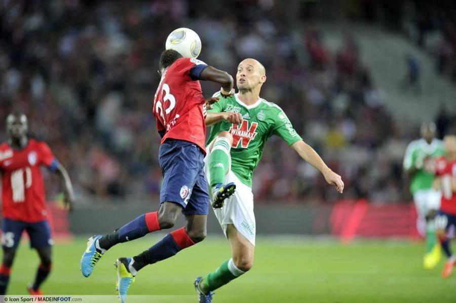 Lille et Saint-Etienne s'affrontent ce soir à Pierre-Mauroy.