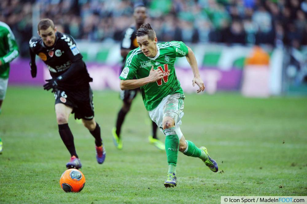 Les Verts de l'AS Saint-Etienne ont pris le meilleur sur le Stade de Reims