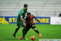 Francois CLERC / Jean II MAKOUN - 18.04.2014 - Saint Etienne / Rennes - 34eme journee de Ligue 1