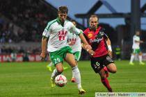 Francois Clerc - 09.08.2014 - Guingamp / Saint Etienne - 1er journee de Ligue 1