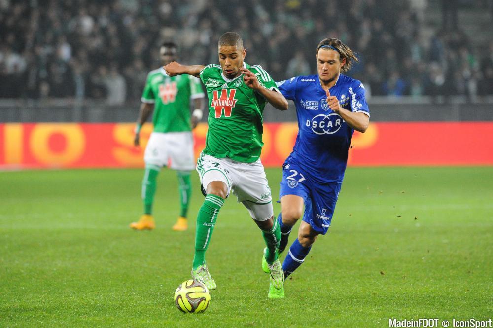 Le SC Bastia a pris le meilleur sur l'ASSE (1-0), ce samedi soir.
