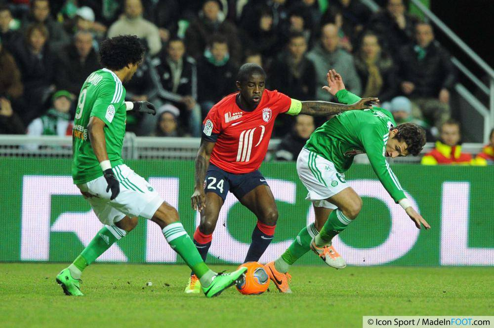 Les Verts étaient venus à bout de Lille dans le Chaudron (2-0)