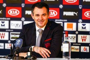 Willy Sagnol, entraîneur de Bordeaux de 2014 à 2016