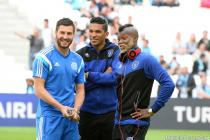 Andre Pierre GIGNAC / BRANDAO / Djibril CISSE - 23.05.2015 - Marseille / Bastia - 38e journee Ligue 1