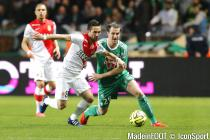 Joao Moutinho / Francois Clerc - 03.04.2015 - Monaco / Saint Etienne - 31e journee Ligue 1