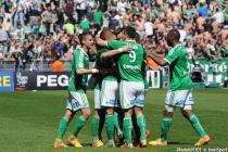 JOIE DE Franck TABANOU  - 12.04.2015 - Saint Etienne / Nantes - 32eme journee de Ligue 1
