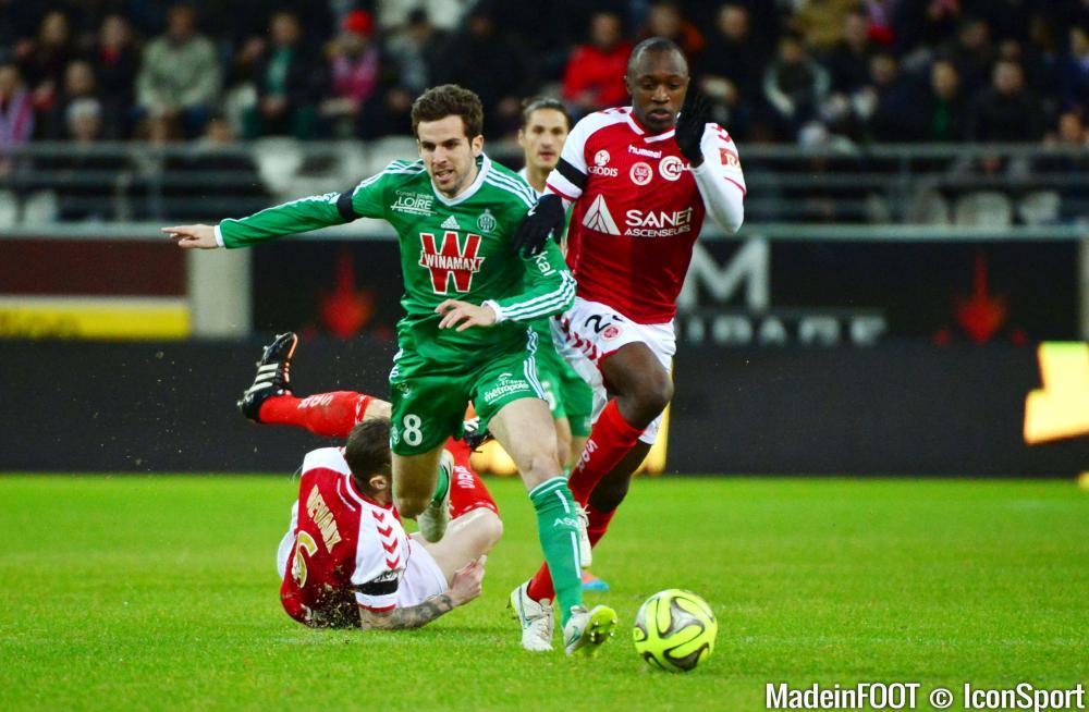 Corgnet et l'ASSE sont toujours en course pour le podium de la Ligue 1.
